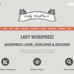 Lady Wordpress