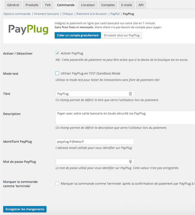 ListWP Business Directory Woocommerce PayPlug